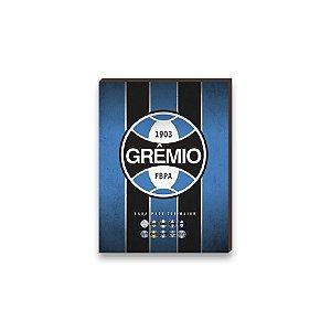 Quadro decorativo Time Grêmio mod. 01 [Box de madeira]