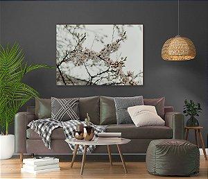 Quadro decorativo Árvore cerejeira branca [BoxMadeira]
