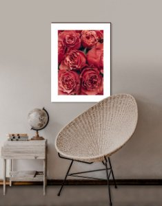 Quadro decorativo Rosas Vermelhas [BoxMadeira]