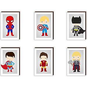 """Kit Heróis Kids [BoxMadeira]"""""""