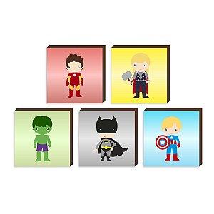 "Kit Heróis Colors [BoxMadeira]"""