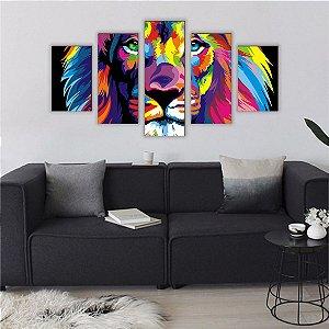 Leão - Mosaico [BoxMadeira]