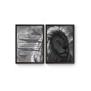 Dupla Leão de Juda [Moldura]