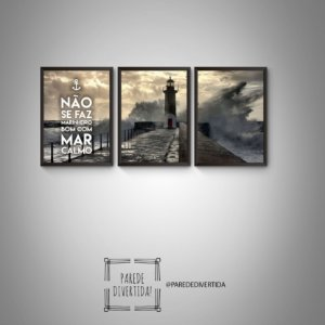 Trio não se faz marinheiro [MolduraVidro]