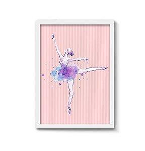 Bailarina [MolduraVidro]