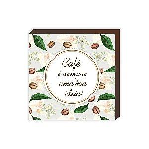 Quadro Café é sempre uma boa idéia [BoxMadeira]