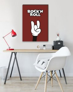 Quadro Rock Mickey [BoxMadeira]