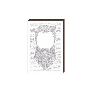 Quadro Decorativo  Barbearia Barber Shop Mod. 03 [BoxMadeira]