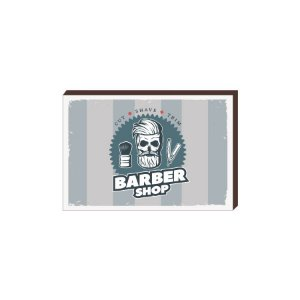 Quadro Decorativo  Barbearia Barber Shop Mod. 12 [BoxMadeira]