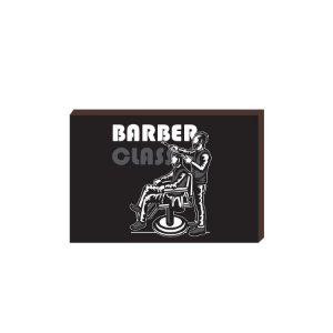 Quadro Decorativo  Barbearia Barber Shop Mod. 13 [BoxMadeira]