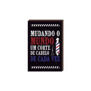 Quadro Decorativo  Barbearia Barber Shop Mod. 23 [BoxMadeira]