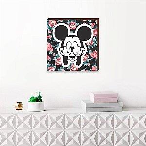 Quadro decorativo Mickey Mod.01 QUADRADO [BoxMadeira]