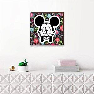 Quadro decorativo Mickey Mod.02 QUADRADO [BoxMadeira]