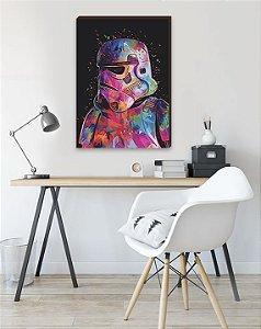 Quadro Decorativo Stormtrooper [BoxMadeira]