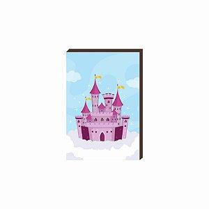 Quadro decorativo Castelo- Disney [Box de Madeira]