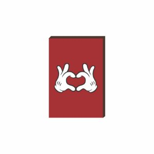 Quadro decorativo Mickey mod. 02 [Box de Madeira]