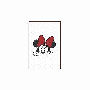 Quadro decorativo Minnie - Mickey [Box de Madeira]