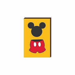 Quadro decorativo Mickey Mod. 03 [Box de Madeira]