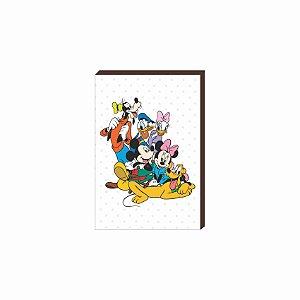 Quadro decorativo Mickey Mod. 04 [Box de Madeira]
