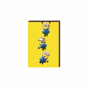 Quadro decorativo Minions Mod. 02 [Box de Madeira]