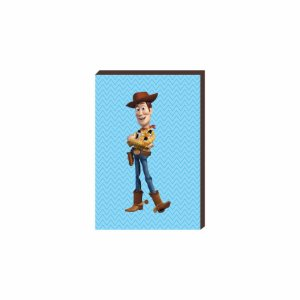 Quadro decorativo Woody- Toy Story [Box de Madeira]