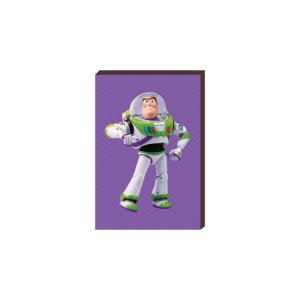 Quadro decorativo Buzz - Toy Story [Box de Madeira]