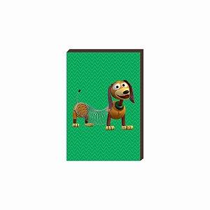 Quadro decorativo Slinky - Toy Story [Box de Madeira]