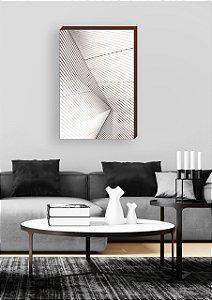 Quadro decorativo Linhas abstratas [BoxMadeira]