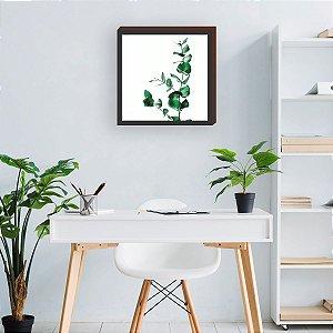 Quadro decorativo Folhagem- Casa Panda [BoxMadeira]