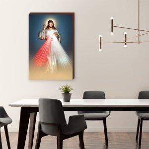 Quadro decorativo Jesus Cristo [BoxMadeira]