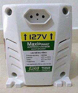 Autotransformador RCG 2000VA Bivolt Maxi Power Branco
