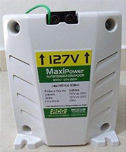 Auto Transformador RCG 3000VA Bivolt Maxi Power Branco antichamas