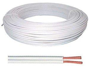 Cordão Paralelo 2x2.5mm² Flexível 1 Metro 300V Ideal para extensão elétrica