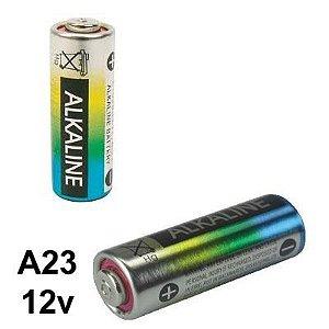 Bateria / Mini Pilha Alcalina para controle Remoto 12V A23 - 02 peças