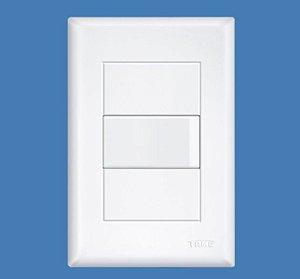 Interruptor Simples 16A 250V com placa - Linha Evidence FAME
