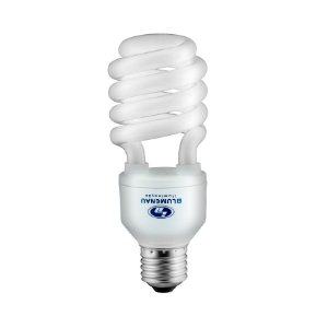 Lâmpada Fluorescente Compacta Espiral 20W 127V Branca - Blumenau E27