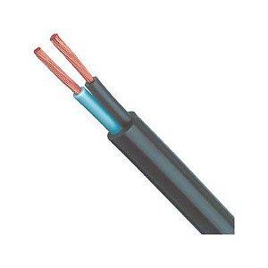 Cabo Fio PP 2x1.5mm² 0,6 / 1,0kv Rolo 20 metros. Ideal para extensão elétrica Industrial