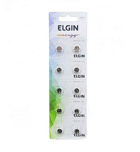 Bateria Alcalina Energy Lr626 Ag4 1.5v Blister com 10 Unidades Elgin