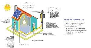 Sistema Fotovoltaico On Grid para instalação Comercial, Residencial e Rural