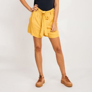 SHORT CLOCHARD AMARELO YVES FYI