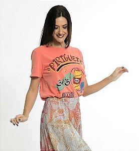 T-Shirt Periguete Laranja Color Farm