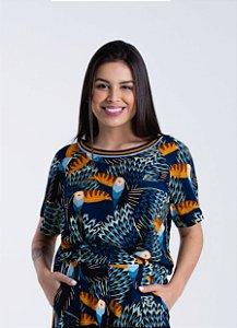 T-shirt Feminina Estampada Tucani Farm