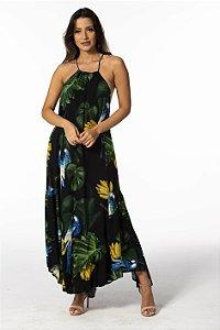 Vestido Cropped Estampado Natureza Viva Farm