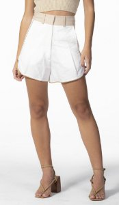Shorts Bicolor Off Shell Open