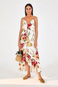 Vestido Midi Floral Betina Farm