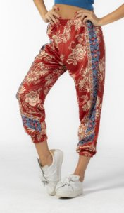 Calça Jogger Nylon Estampada Patch Panamazônia Farm