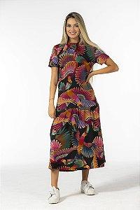 Vestido Cropped Estampado Frescor de Tucano Farm