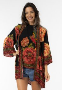 Kimono Estampado Floral YAWANAWA Farm