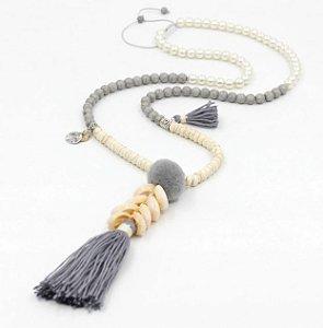 nome: Colar para As Mulheres materiais: turquesa, borla, shellls, liga dimensões: comprimento da Cadeia de 80 cm (31.5 polegadas),