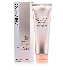 Shiseido  Benefiance Extra Creamy Cleansing Foam 125ml/4.4oz